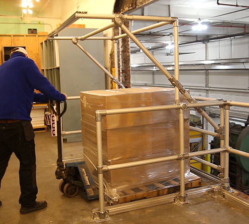 Mezzanine Pallet Gate : Pallet gates kee safety uk