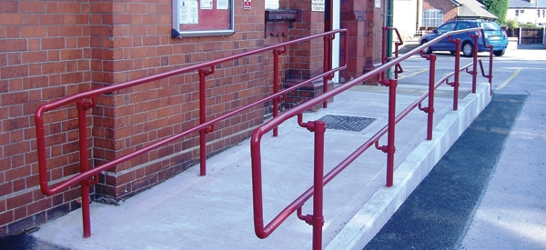 DDA compliant handrail installed by Kee Safety