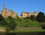 Fall protection systems at Inverness Castle