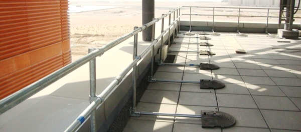 Kee Guard Free Standing Barrier - Masdar City, Abu Dhabi, UAE