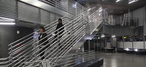 Kee Klamp Stair Railings - South Korea