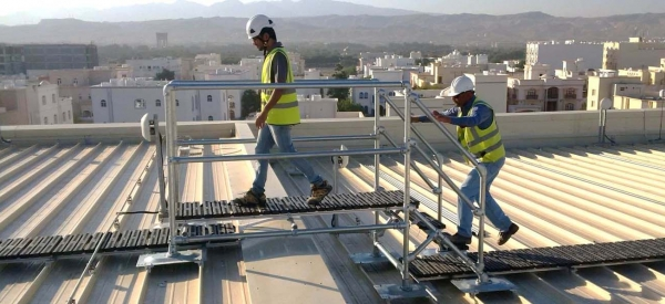 Rooftop Walkway & Step Overs, Muscat City Centre
