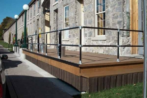 Elevated Walkway Guardrail