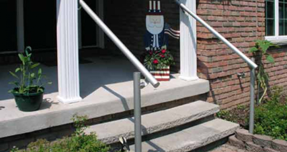 Outdoor Aluminum Handrail Kee Safety Inc