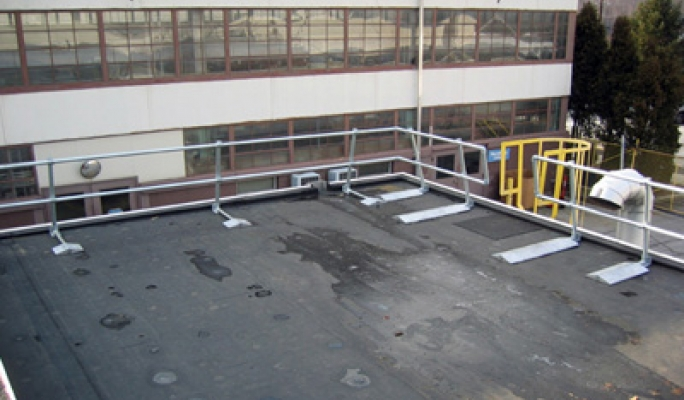 Innovative Application Of Rooftop Railing Kee Safety Inc