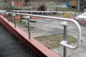 Outdoor ADA Ramp