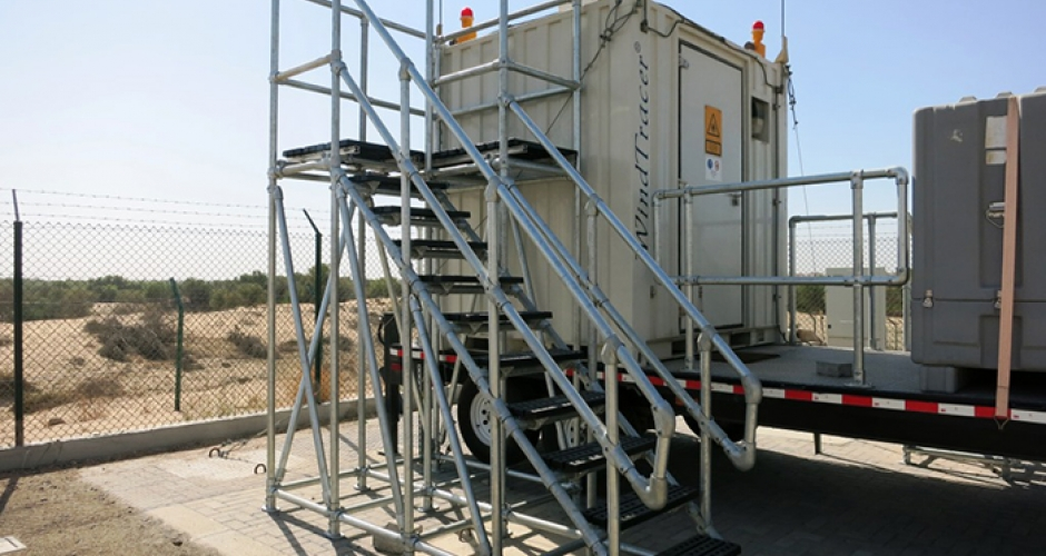 Bespoke access platforms for Dubai Air Navigation Services