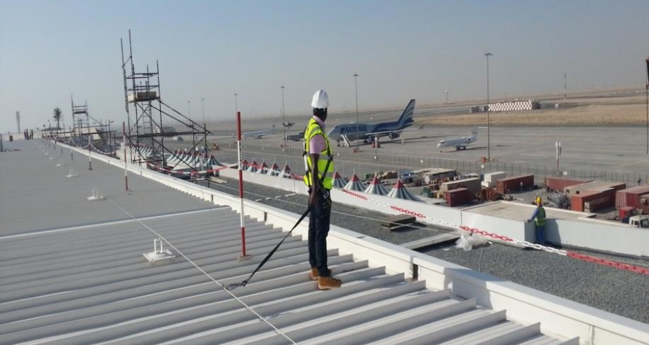 Wire Fall Protection System The Dubai World Central