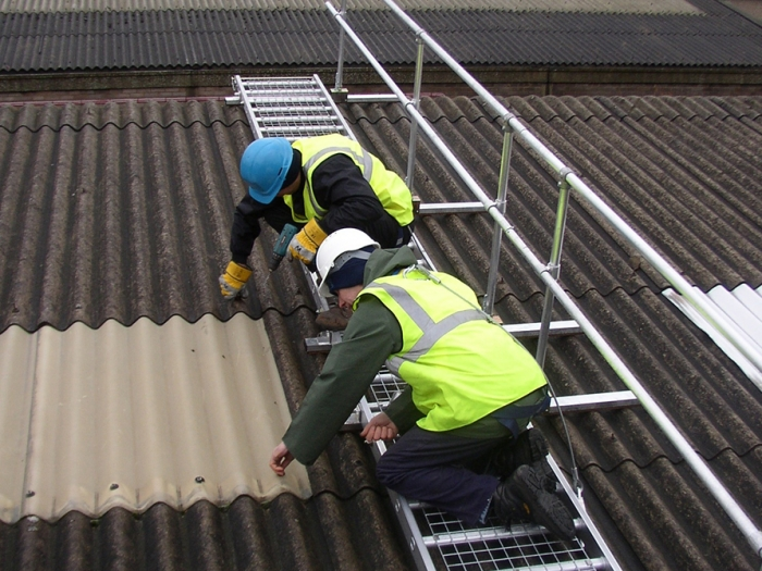 Safe Access To Fragile Roofs Kee Safety Uk