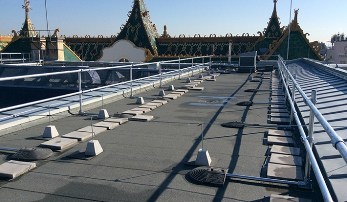 KeeGuard Roof Edge Fall Protection