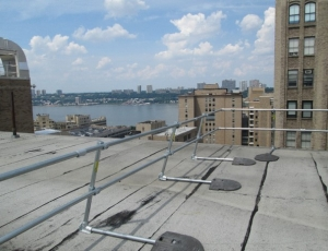 KeeGuard and KeeGate for Rooftop Fall Protection at Morgan Stanley Children's Hospital