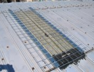 KeeGuard® Skylight Screens rib corrugated roof style