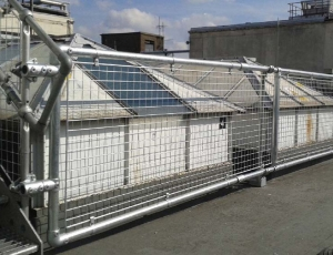 Roof Guard Rails for Selfridges in London