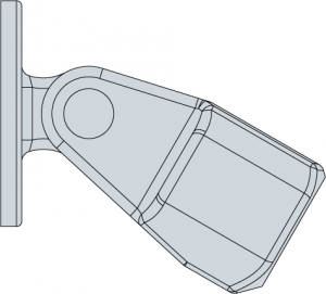 LC58 - Swivel Flange