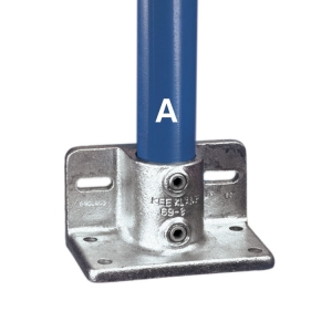 69 - Railing Flange With Toeboard Adaptor