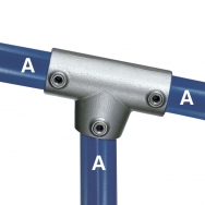 Three Socket Angle Tee