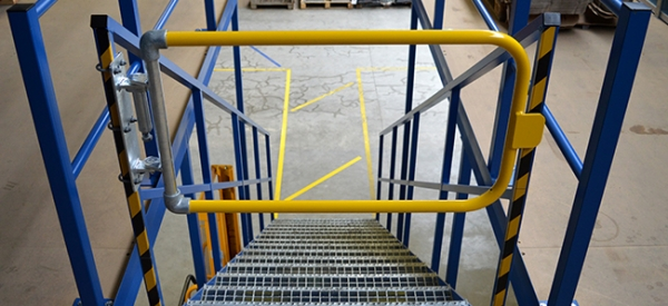 Industrial Self Closing Safety Gates
