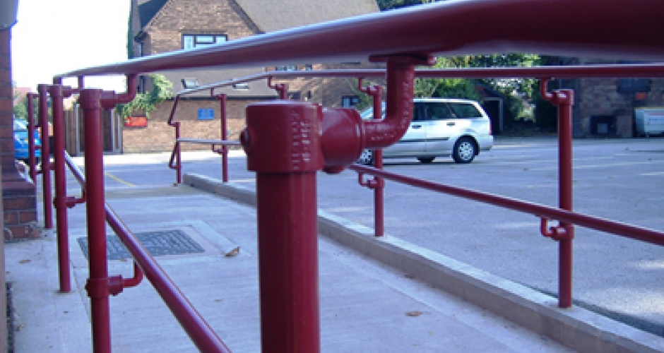 KEE ACCESS handrails