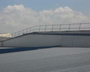 Roof Edge Protection for Metal Profile and Standing Seam Roofs