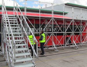 Bespoke Mobile Work Platforms