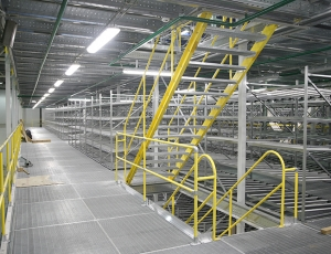 Warehouse Safety Railings