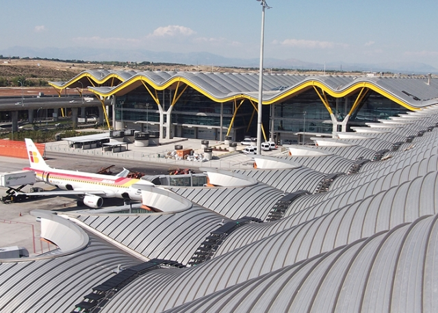 Roof Safety is Kee at Spanish Airport