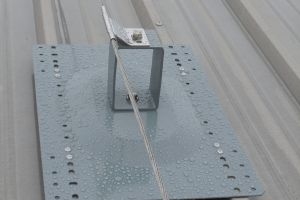 KeeLine® for Roofs- Top fix metal profile