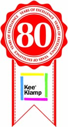 Kee Klamp celebrates 80 years of safe structures!