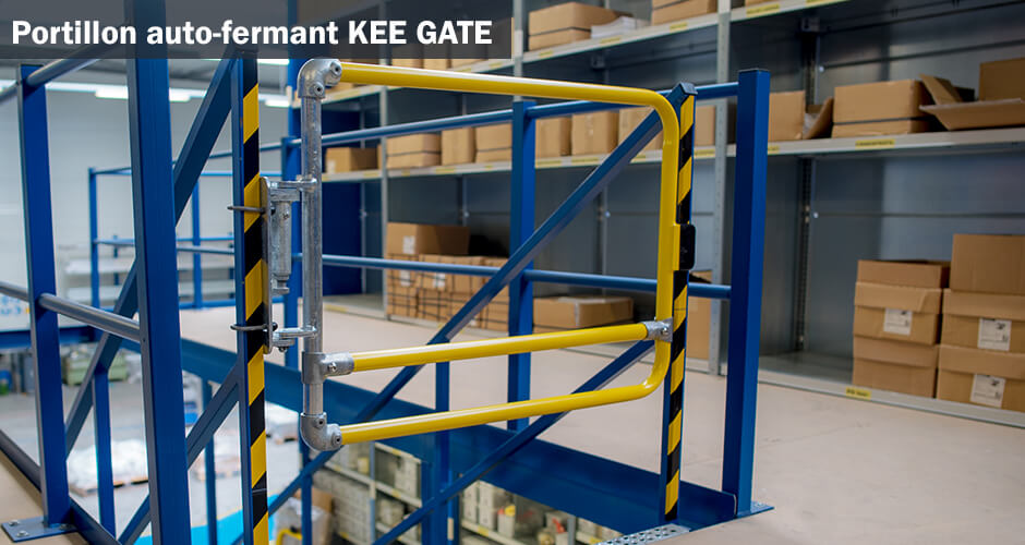 Portillon de sécurité auto-fermant Kee Gate