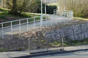 Ramp Guardrail