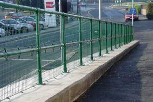 Bike and Pedestrian Walkway Guardrail