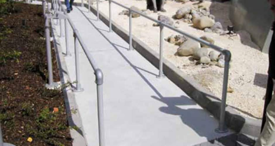 Ramp Guardrail Kee Safety Inc