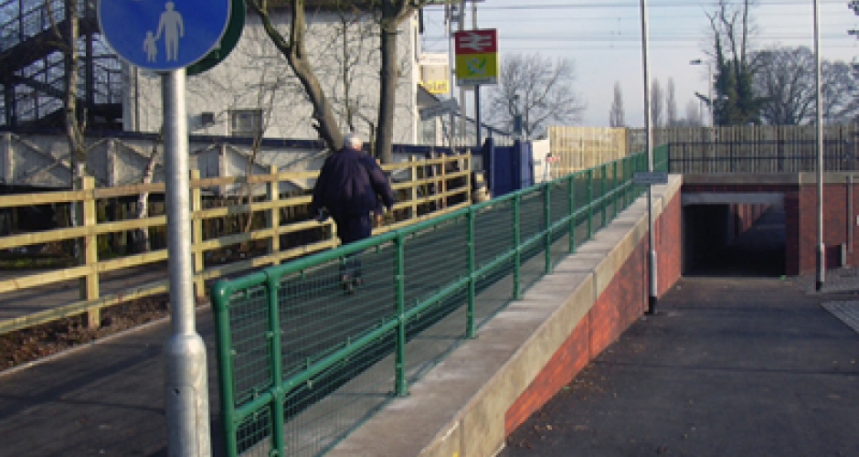 Bike And Pedestrian Walkway Guardrail Kee Safety Inc