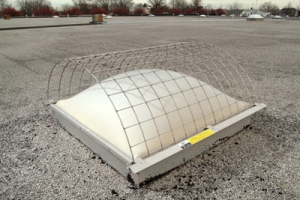 Non-penetrating Skylight Screen Exceeds OSHA Standards