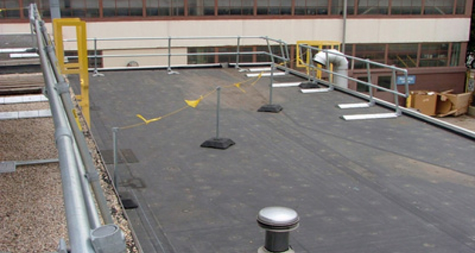 Free Standing Warning Lines Kee Safety Canada