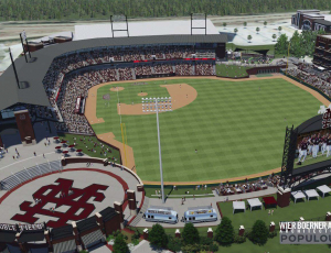 Mississippi State University Baseball Stadium