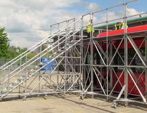 Bespoke Mobile Work Platforms for Bus Maintenance