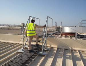 Rooftop Walkway & Step Overs for Muscat City Centre