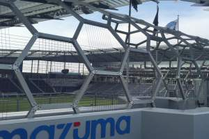 Children's Mercy Park - Soccer Ball Structure