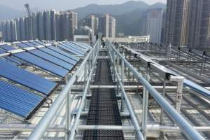 Fall Protection Solution for Hong Kong Sports Institute