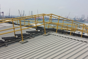 Fall Protecion Solution for a Power Plant in Singapore