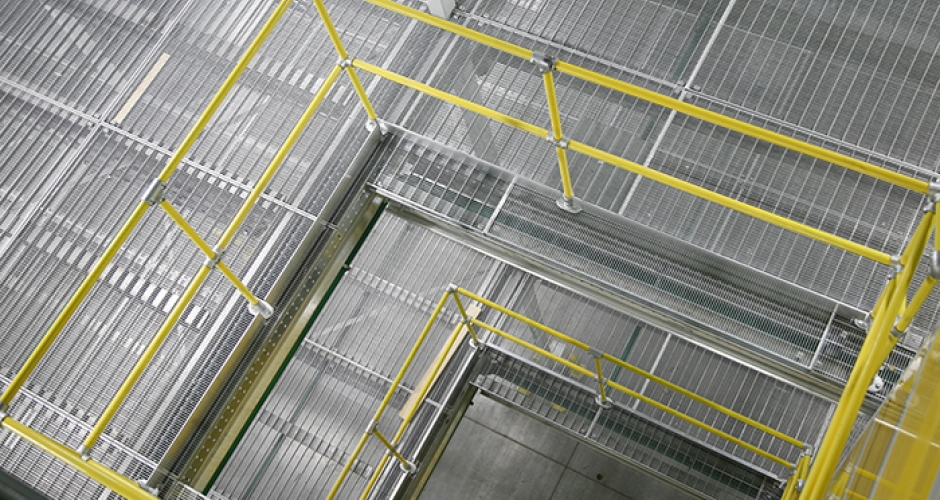 Warehouse Safety Guardrails Kee Safety Uk