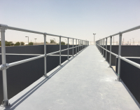 Safety Railing Systems for Waste Water Treatment