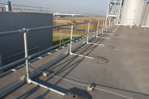 Roof Top Guardrail Kee Safety Uk
