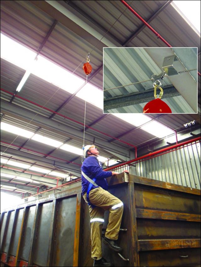 Kee Safety 174 Introduces New Keeline 174 Overhead Lifeline