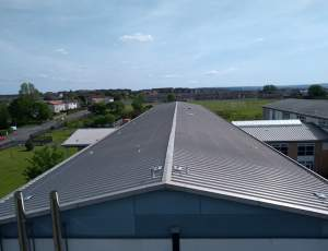 KeeLine Installation on School Rooftop