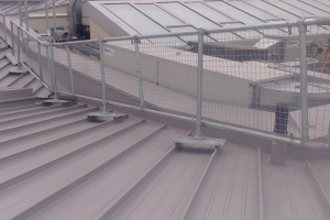 Metal Roof Guardrail