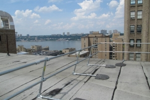 Morgan Stanley Children's Hospital: KeeGuard and KeeGate for Rooftop Fall Protection