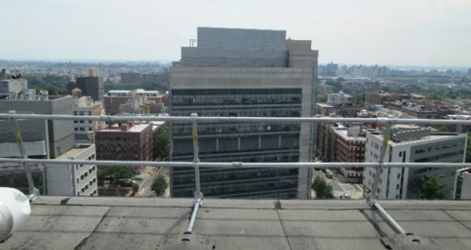Keeguard And Keegate For Rooftop Fall Protection At Morgan