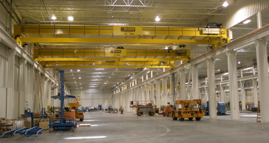 Handrail System For An Overhead Crane Kee Safety Inc